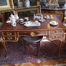 Louis XV style writing desk