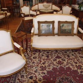 Louis XV style lounge set