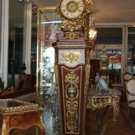 Louis XVI floor clock
